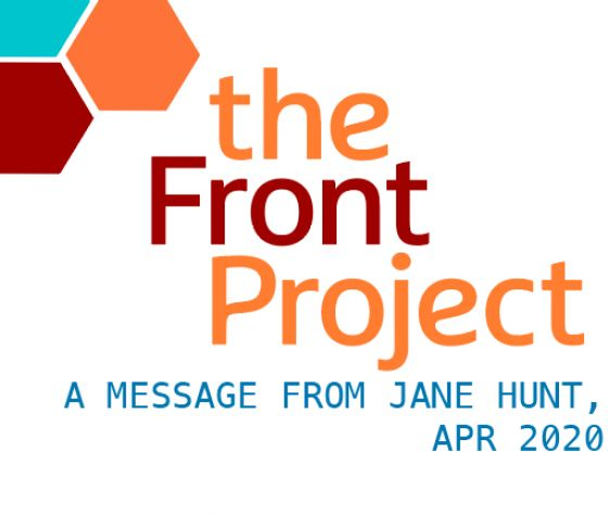A message From Jane Hunt, April 2020