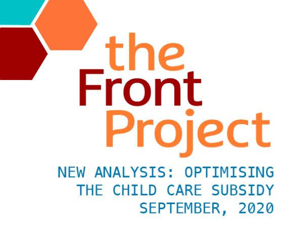 New Analysis: Optimising the Child Care Subsidy is good for children, families and the economy.