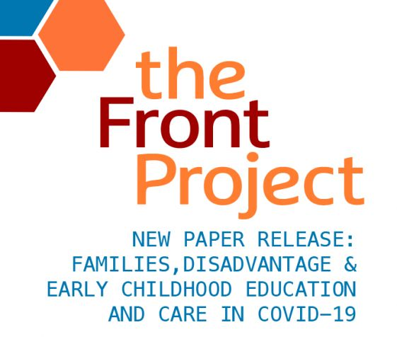 Families, Disadvantage & Early Childhood Education and Care in COVID-19